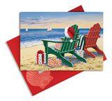 Embellished Christmas Cards - Red & Green Adirondacks