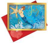 Embellished Christmas Cards - Mermaid Joy