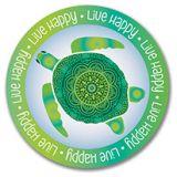 Sticker - Turtle - Live Happy