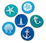 Souvenir Sea Glass - Nautical Assortment