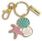 Enamel Keychain - Shells