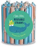 Display - Coastal Straws