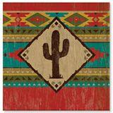 Souvenir Magnet - Camp Blanket Saguaro