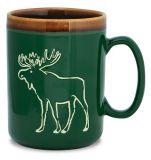 Hand Glazed Mug - Moose