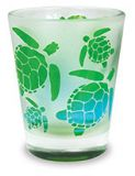 Frosted Shot Glass - Turtle