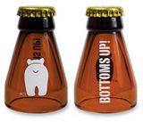 Novelty Shot - Beer Bottle Bottoms Up Bear