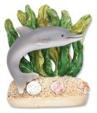 Resin Magnet - Dolphin in Seaweed
