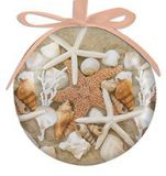 Ball Ornament - Beach Walk Shells