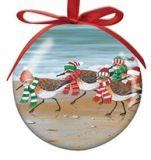 Ball Ornament - Sandpipers