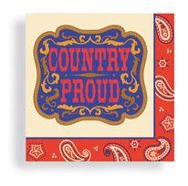 Beverage Napkin 24 ct Country Proud