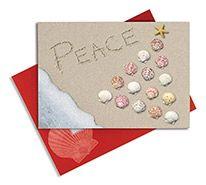 Embellished Christmas Cards - Peace