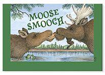 Souvenir Magnet - Moose Smooch