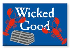 Souvenir Magnet - Wicked Good Lobster