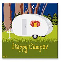 Souvenir Magnet - Happy Camper