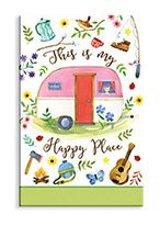 Souvenir Magnet - Happy Place Camper