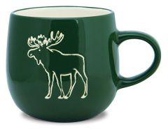 Batik Mug - Moose