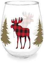 Wine Tumbler - Moose