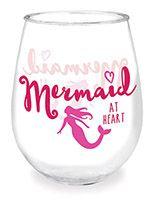 Wine Tumbler - Mermaid at Heart
