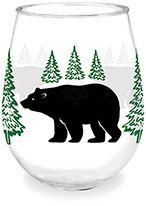 Wine Tumbler - Bear