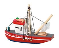 "4"" Wooden Trawler"