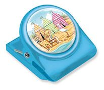 Button Clip Magnet Mary on Vacation Sounds of the Sea