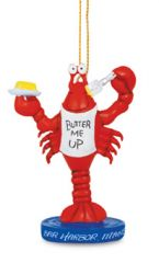 Resin Ornament - Butter Me Up Lobster