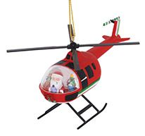 Resin Ornament - Helicopter