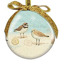 Ball Ornament - Sand Pipers