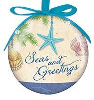 Light Up Ball Ornament - Seas & Greetings