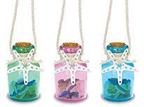 Glass Ornament - Jar with Sea Glass