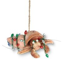 Resin Ornament - Hermit Crab with Lights