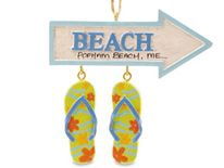 Resin Ornament - Flip Flop Parade