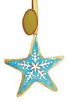 Metal Ornament - Patina Starfish