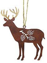 Metal Ornament - Deer