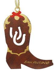 Metal Ornament - Cowboy Boot