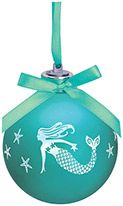 Light-up Frosted Glass Ball Ornament - Mermaid