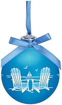Light-up Frosted Glass Ball Ornament - Adirondack Chairs