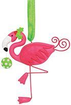 Clay Ornament - Flamingo