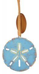 Metal Ornament - Sand Dollar
