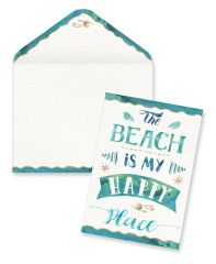 Boxed Notes - The Beach Is My Happy Place