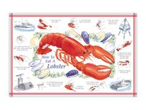 How to Eat a Lobster Placemat