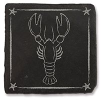 Slate Coaster - Lobster