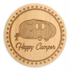 Wood Coaster - Camper