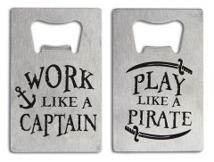 Credit Card Bottle Opener - Work Like A Captain