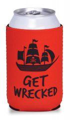Beverage Cooler - Get Wrecked