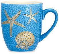 Sea Reflections Mug - Starfish & Scallop