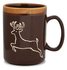 Hand Glazed Mug - Deer
