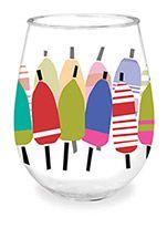 Wine Tumbler - Buoys