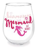 Wine Tumbler - Mermaid at Heart