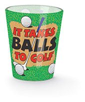 Shot Glass - Balls to Golf